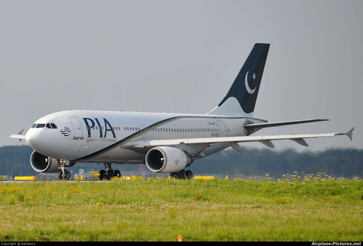 PIA - Pakistan International Airlines AP-BEG aircraft at Amsterdam - Schiphol