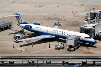 N768SK - United Express Canadair CL-600 CRJ-700