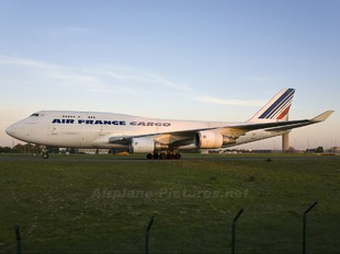 F-GISB - Air France Cargo Boeing 747-400BCF, SF, BDSF