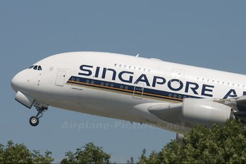 9V-SKA - Singapore Airlines Airbus A380