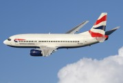 ZS-OKH - British Airways - Comair Boeing 737-300 aircraft