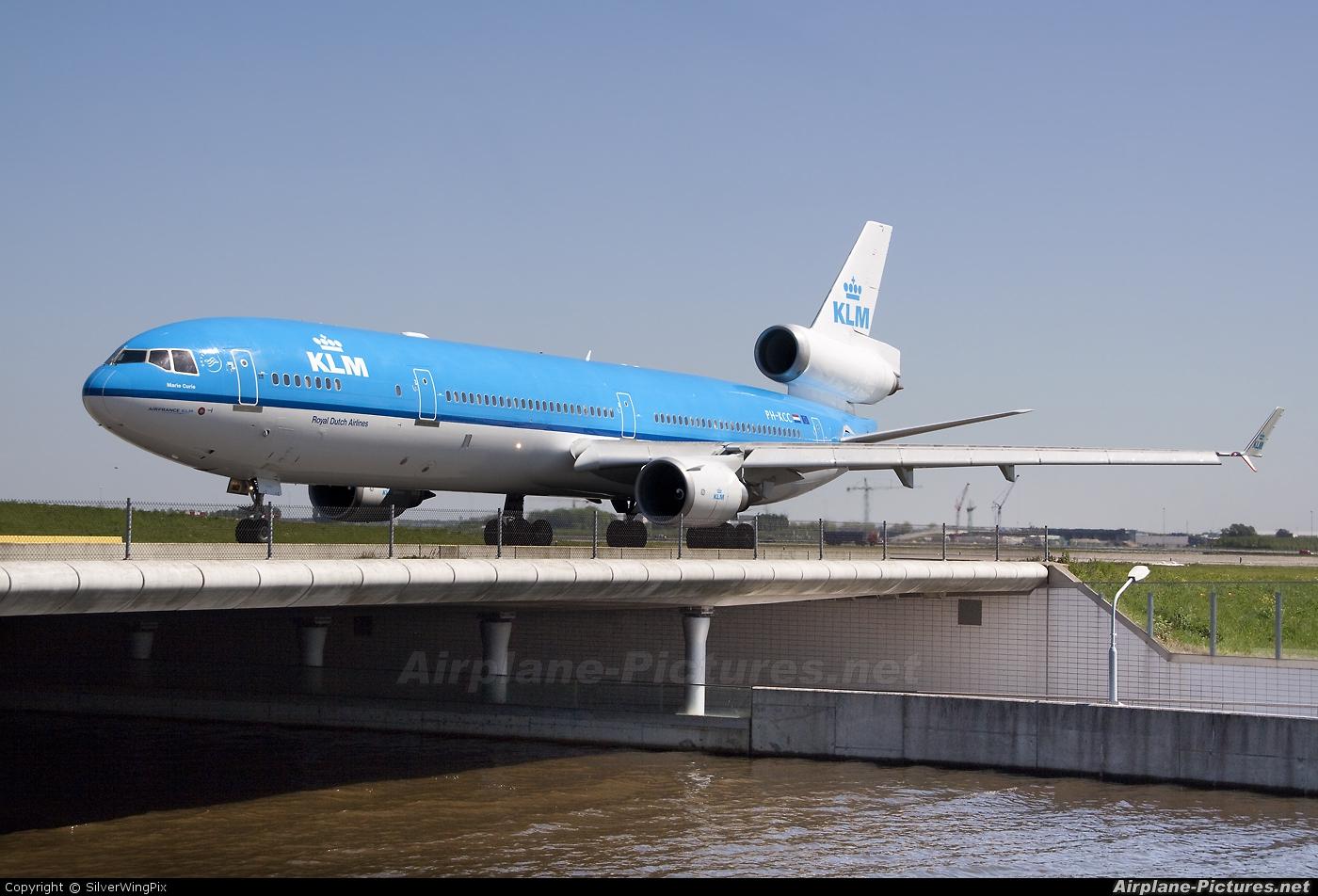 KLM PH-KCC aircraft at Amsterdam - Schiphol