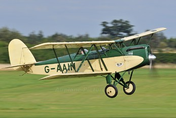 G-AAIN - The Shuttleworth Collection Parnall Elf II
