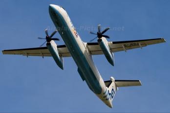 G-JEDJ - Flybe de Havilland Canada DHC-8-400Q / Bombardier Q400