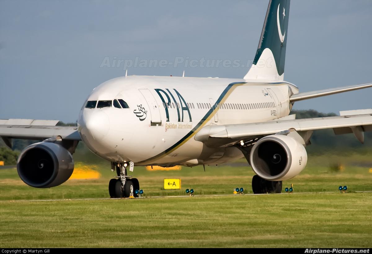 PIA - Pakistan International Airlines AP-BEG aircraft at Leeds Bradford