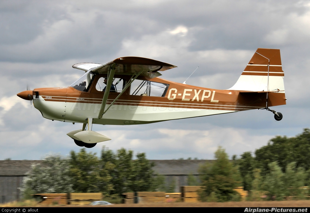 Private G-EXPL aircraft at Breighton