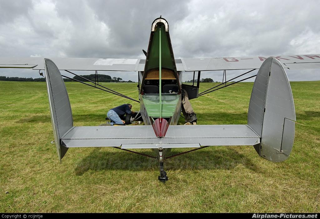 Private G-AKVR aircraft at Diest Schaffen