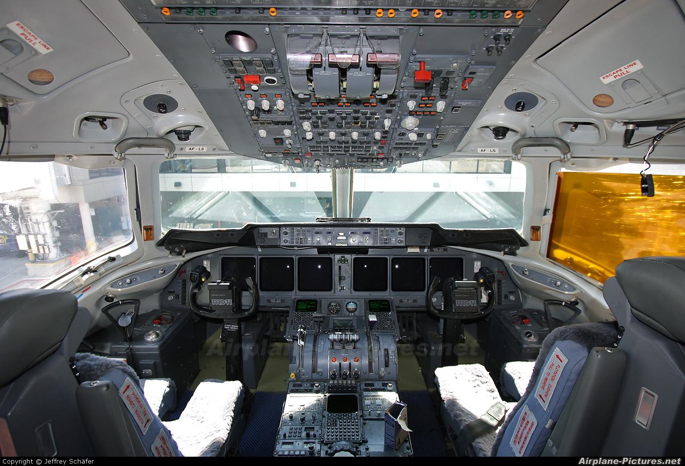 KLM PH-KCE aircraft at Calgary Intl, AB