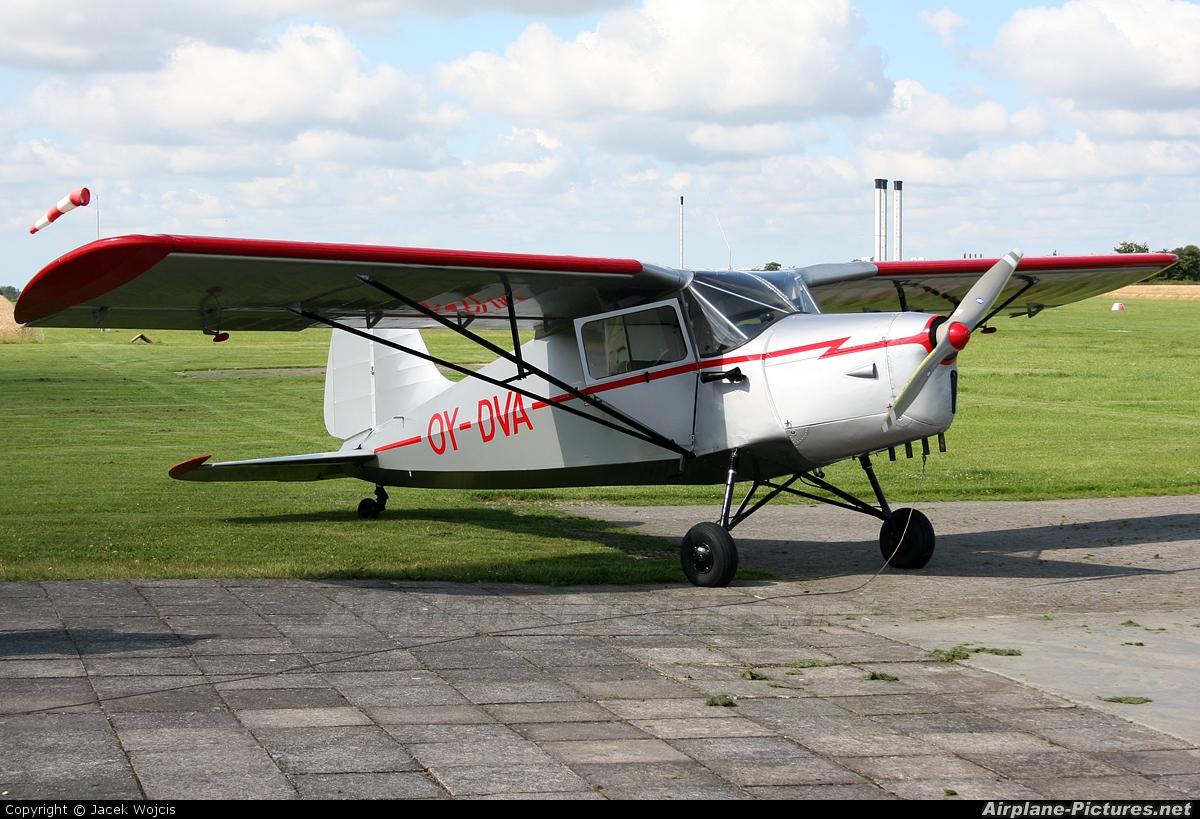 Private OY-DVA aircraft at Ringsted
