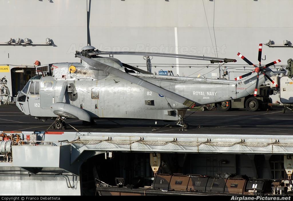 Royal Navy ZD636 aircraft at Off Airport - Malta