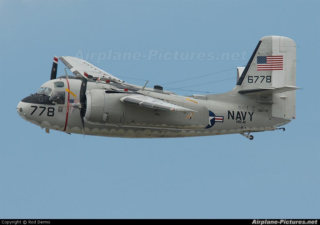 N778SR - Private Grumman C-1A Trader at Detroit - Willow Run