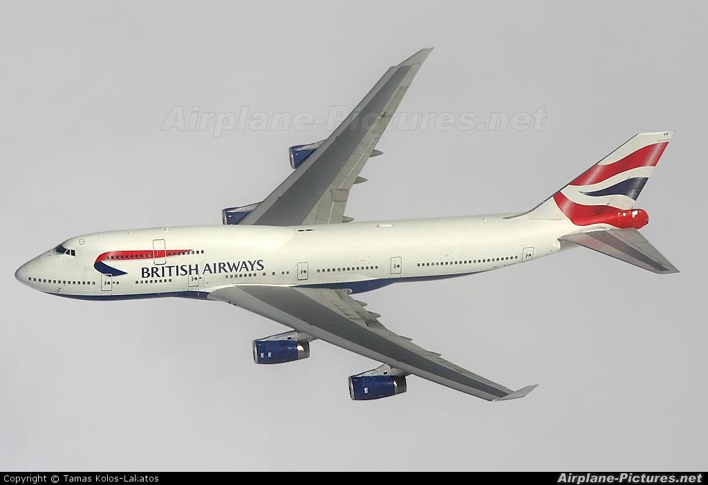British Airways G-CIVO aircraft at In Flight - International