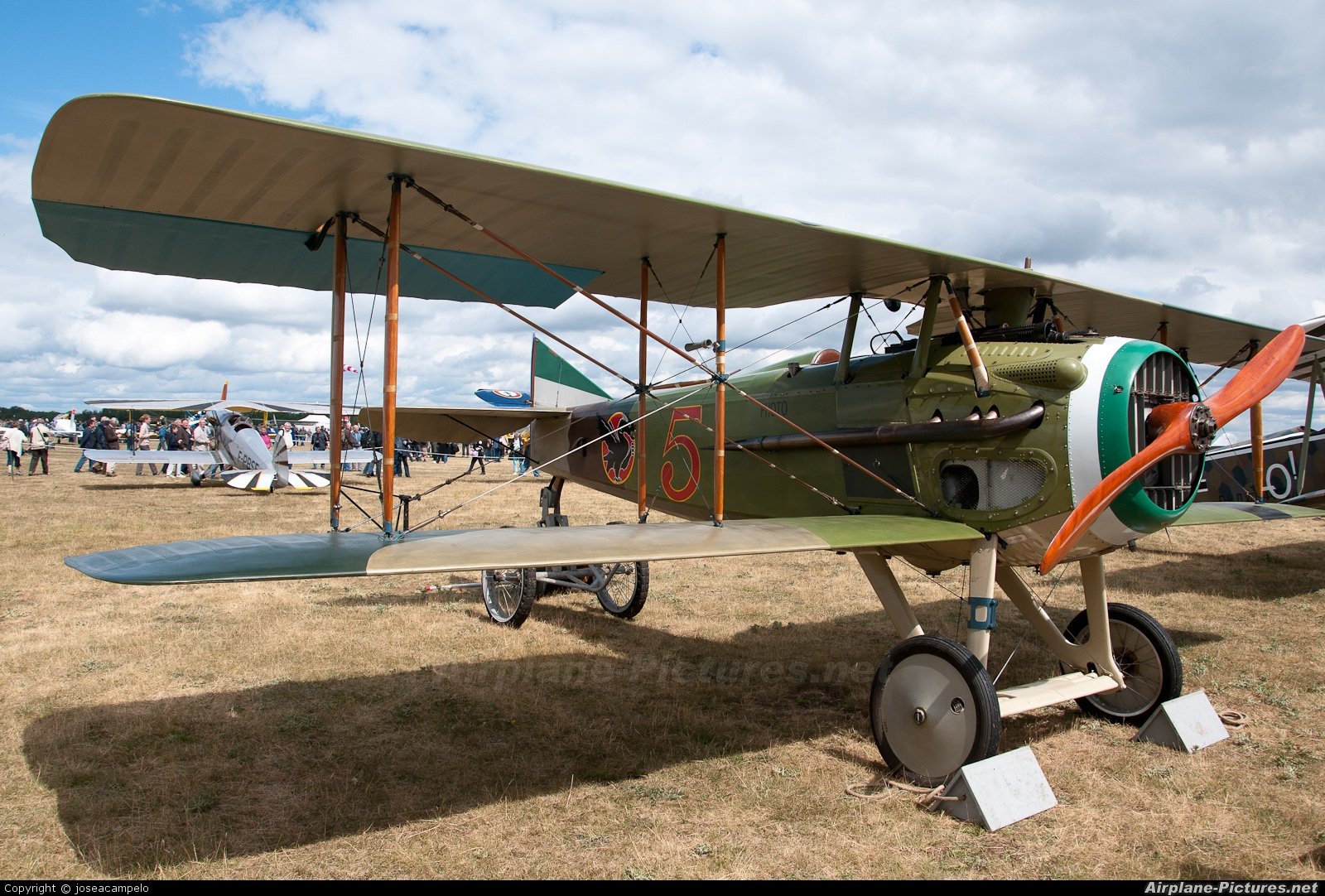 Private - aircraft at La Ferté-Alais