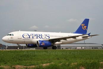 5B-DCF - Cyprus Airways Airbus A319