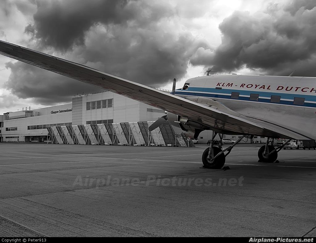 DDA Classic Airlines PH-PBA aircraft at Glasgow