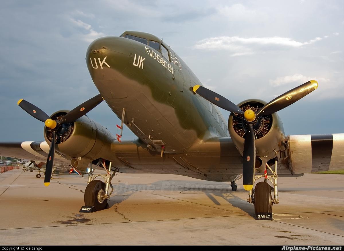 "Royal Air Force ""Battle of Britain Memorial Flight"" ZA947 aircraft at Pardubice"