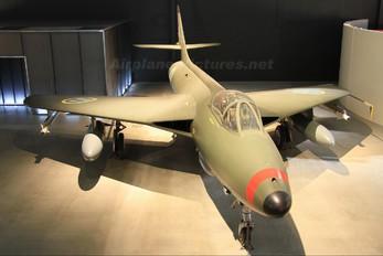 34016 - Sweden - Air Force Hawker Hunter F.51