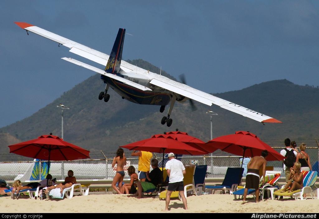Winair PJ-BIW aircraft at Sint Maarten - Princess Juliana Intl