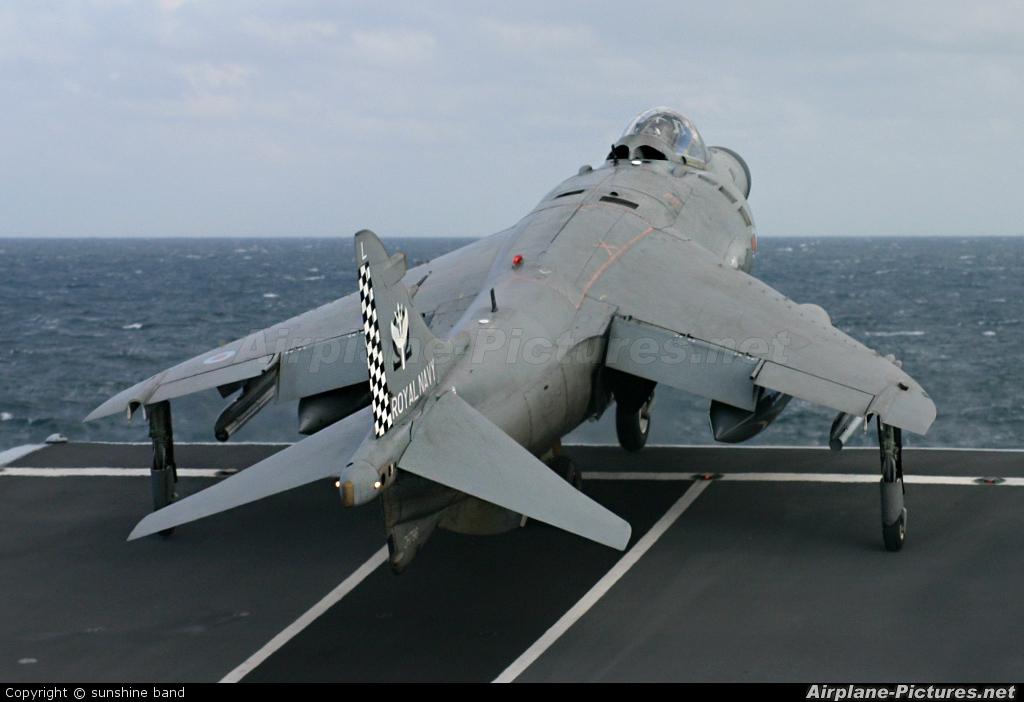 Royal Navy ZH796 aircraft at Off Airport - England