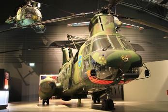 04064 - Sweden - Air Force Boeing Vertol 107 HKP 4B