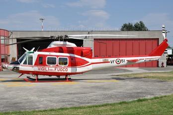 I-VFOC - Italy - Vigili del Fuoco Bell 412EP