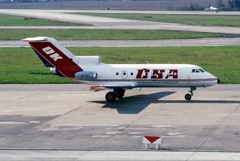 OK-GEL - CSA - Czech Airlines Yakovlev Yak-40