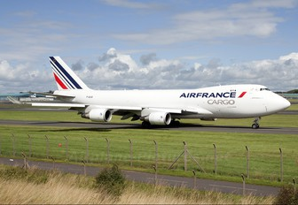 F-GIUD - Air France Cargo Boeing 747-400F, ERF