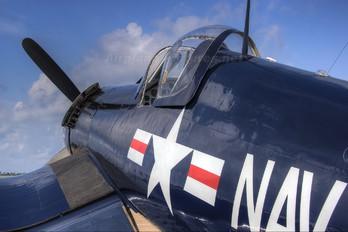 N43RW - Texas Aviation Hall of fame Vought F4U Corsair