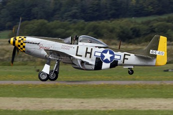 G-MSTG - Private North American P-51D Mustang