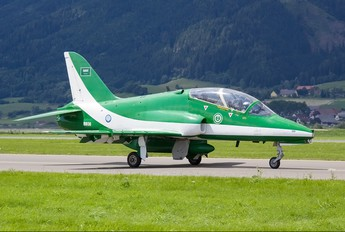 8808 - Saudi Arabia - Air Force: Saudi Hawks British Aerospace Hawk 65 / 65A