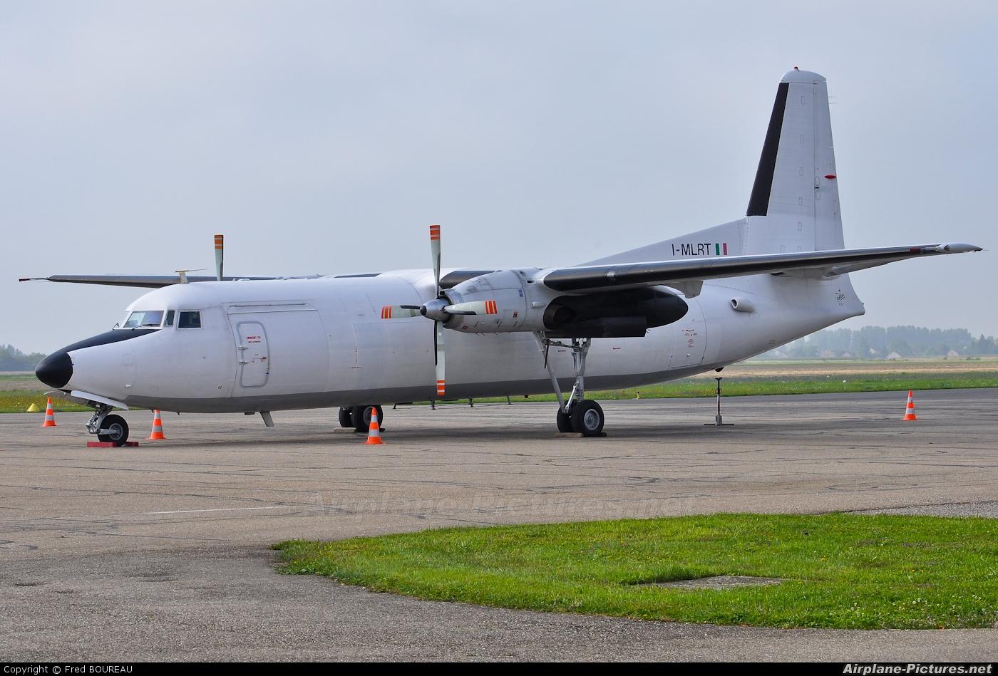 Europe Airpost I-MLRT aircraft at Dole - Jura