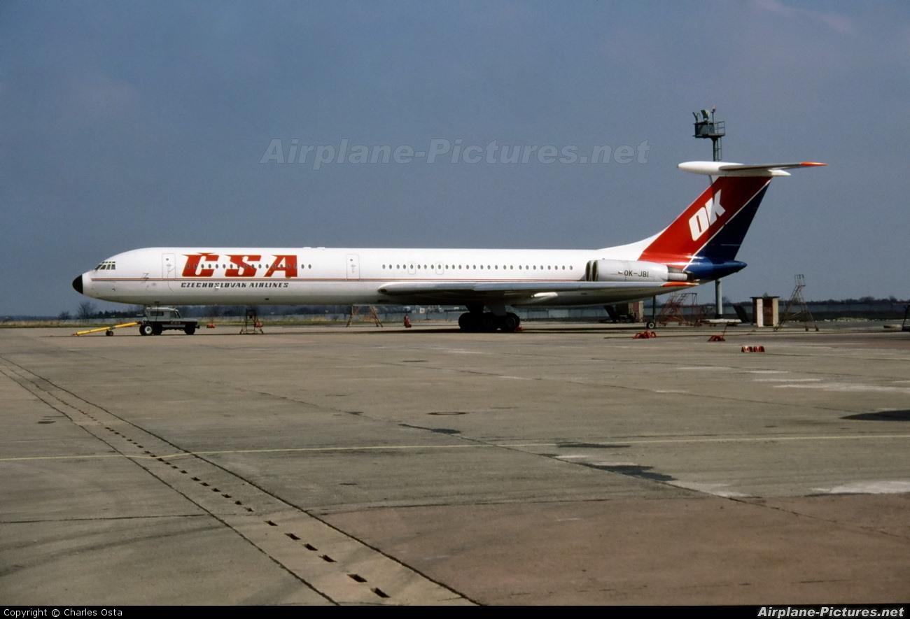 CSA - Czech Airlines OK-JBI aircraft at Prague - Václav Havel