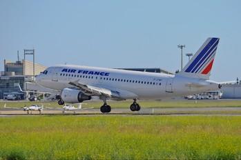 F-GPMF - Air France Airbus A319