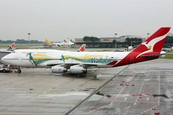 VH-OJO - QANTAS Boeing 747-400