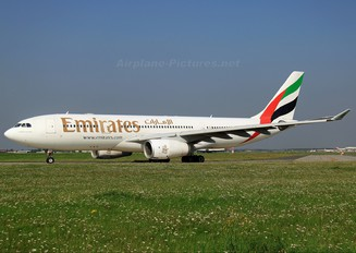 A6-EAA - Emirates Airlines Airbus A330-200