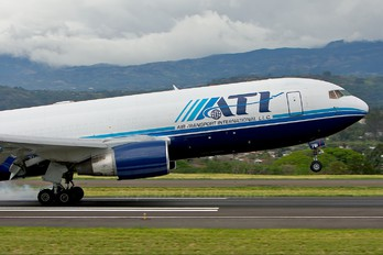 N761CX - ATI - Air Transport International Boeing 767-200F