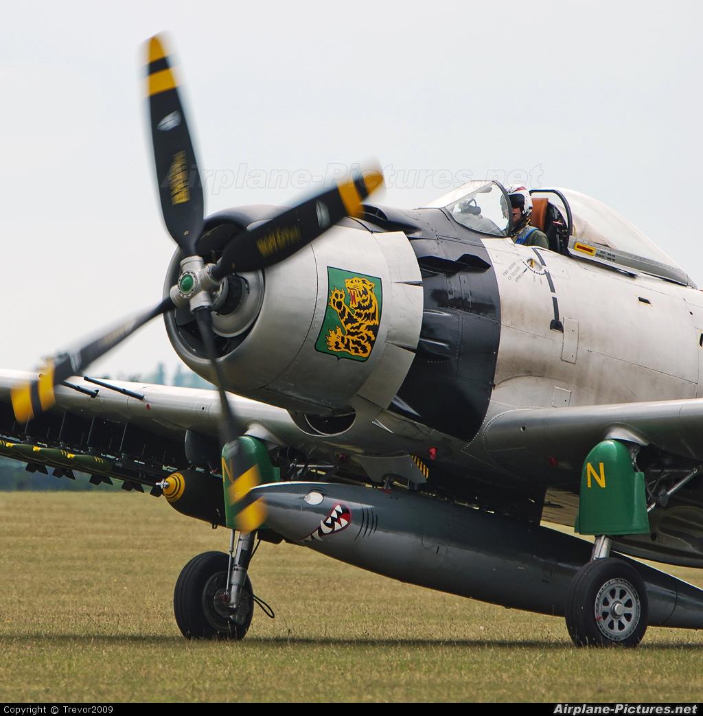 Private F-AZHK aircraft at Duxford