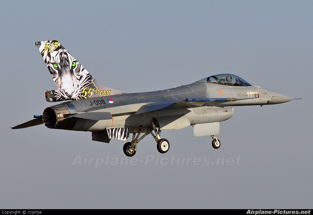 Netherlands - Air Force J-008 aircraft at Uden - Volkel
