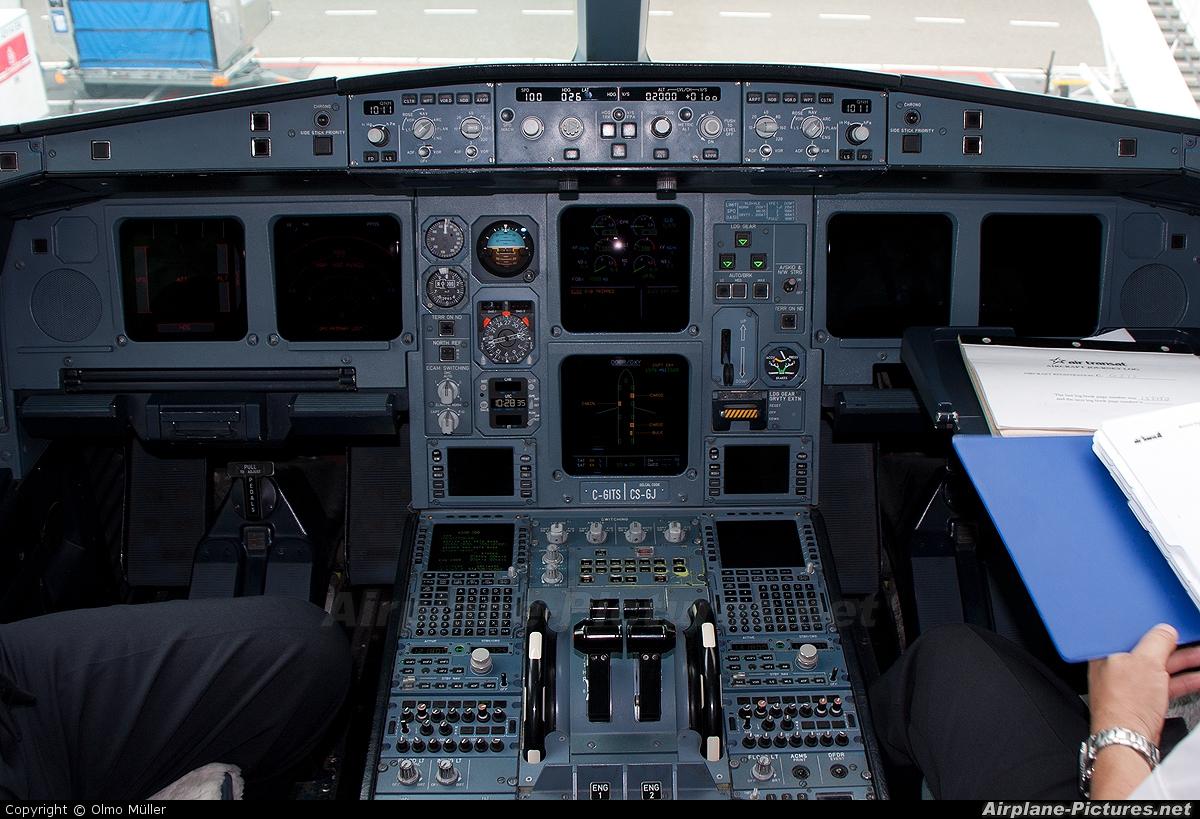 Air Transat C-GITS aircraft at Amsterdam - Schiphol