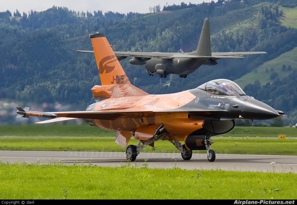 Netherlands - Air Force J-015 aircraft at Zeltweg
