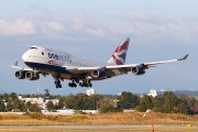 G-CIVK - British Airways Boeing 747-400 aircraft