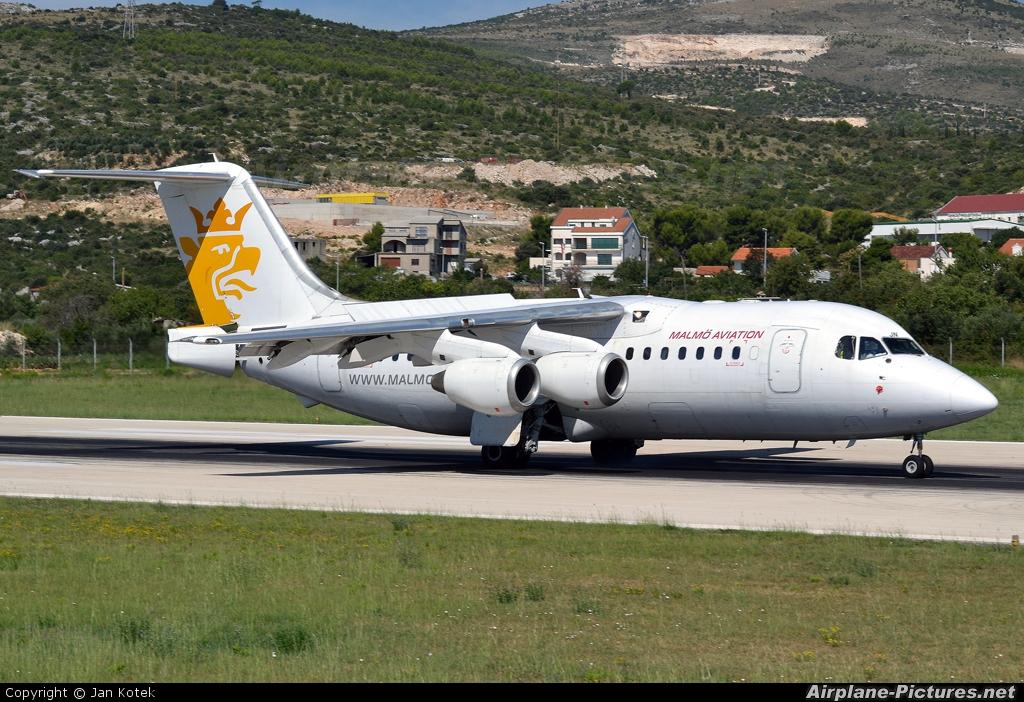 Malmo Aviation SE-DJN aircraft at Split - Kaštela