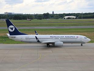 EI-CXV - Mongolian Airlines Boeing 737-800