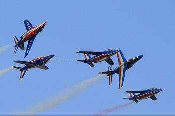 """E130 - France - Air Force """"Patrouille de France"""" Dassault - Dornier Alpha Jet E"""
