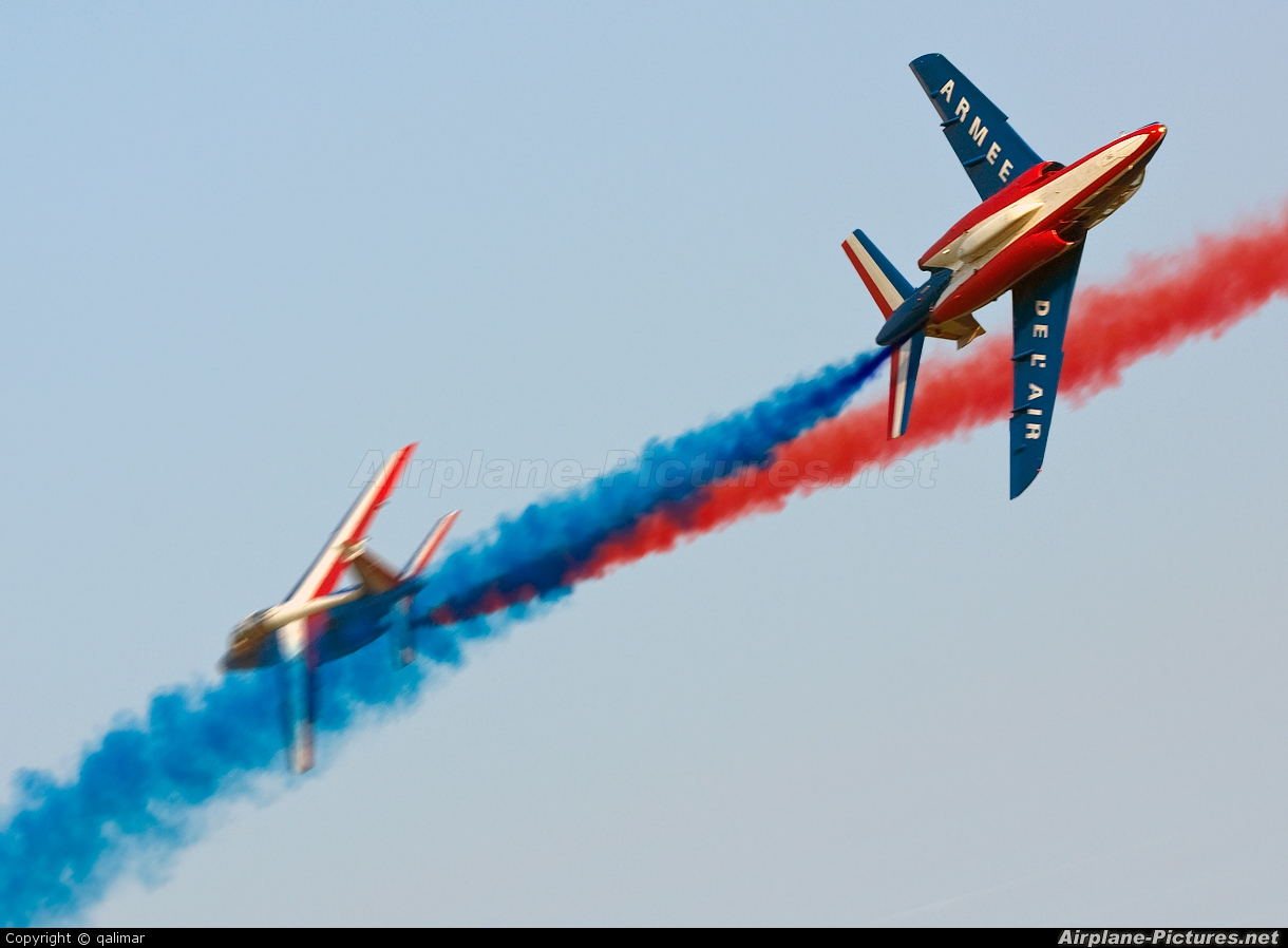 "France - Air Force ""Patrouille de France"" - aircraft at Radom - Sadkow"