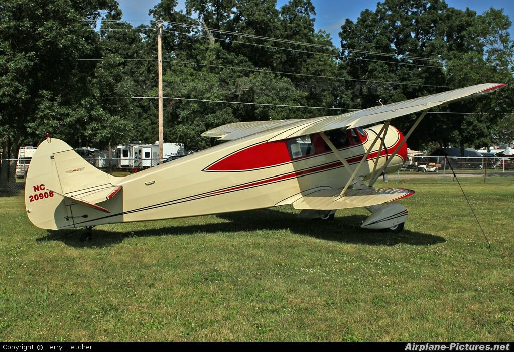 Private NC20908 aircraft at Oshkosh - Wittman Regional