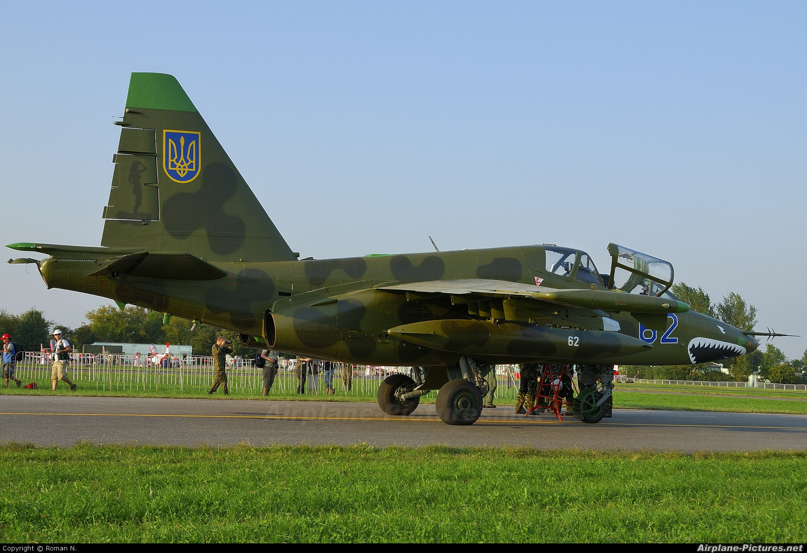 Ukraine - Air Force 62 aircraft at Radom - Sadków