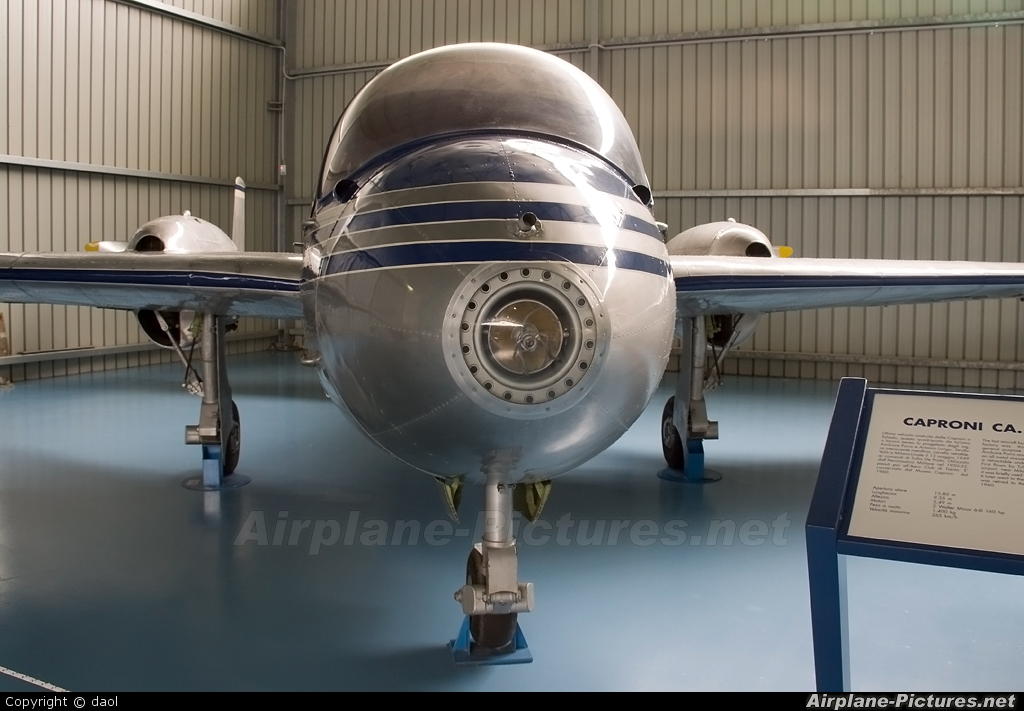 Private I-POLO aircraft at Trento - Mattarello