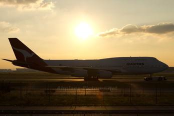 VH-OJE - QANTAS Boeing 747-400