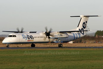 G-JEDI - Flybe de Havilland Canada DHC-8-400Q Dash 8
